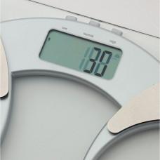 Salter Silver Ultra Slim Glass Body Analyser Scale
