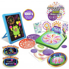 Cra-Z-Art Light Up Flat Screen & Mandala Desk Set