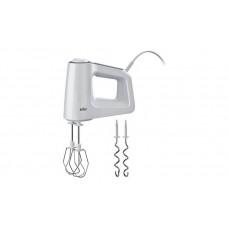 Braun HM3100WH MultiMix 3 500w Electric Hand Mixer - White