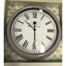 Sempre Outdoor Wall Clock - Grey
