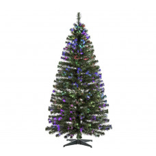 Home 6ft Fibre Optic Christmas Tree - Green