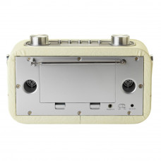 Bush Leather Look Bluetooth DAB Radio - Cream (Unit Only)