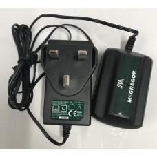McGregor ACG318G2 18V Battery Charging Port & Mains Lead