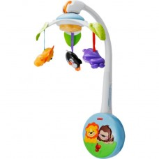 Fisher-Price Precious Planet Wind Up Cot/Buggy Mobile