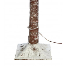 Home 4ft Pre-Lit Snowy Twig Christmas Tree - Brown