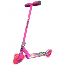 Zinc Non Folding Light Up Scooter - Pink