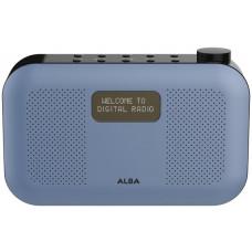 Alba Stereo DAB Radio - Blue