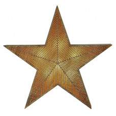 Home Large Lit Wooden Star - Winter's Mist