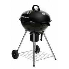 George Foreman 48cm Kettle Charcoal BBQ - Black