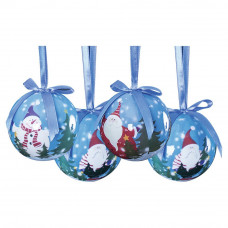 The Christmas Workshop 14 Piece Let It Snow Baubles
