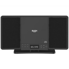 Bush Flat CD Bluetooth Micro System - Black (No Remote Control)