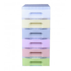 Really Useful 6 Drawer Storage Tower - Pastels