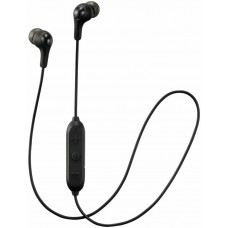 JVC HAFX9BT Gumy In-Ear With Mic Wireless Headphones - Black