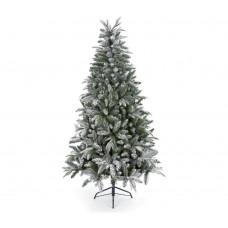 Premier Decorations Flocked Lapland Spruce Christmas Tree - 5ft