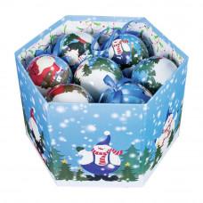 The Christmas Workshop 14 Piece Let It Snow Baubles