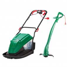 Qualcast Electric Rotary Lawnmower & Grass Trimmer (No Spanner) (B Grade)