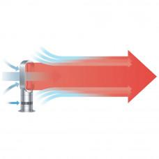 Dyson AM09 Hot & Cool Fan Heater - White/Nickel