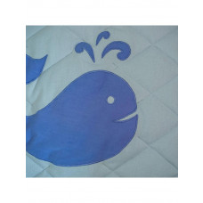 Kiddiewinkles Children's Nautical Playspace Floor Quilt - Large
