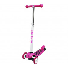 Westbeach Comet Tri Scooter - White & Pink