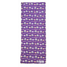 ProAction Elephant Print 250GSM Junior Single Sleeping Bag - Purple