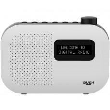 Bush Mono DAB Radio - White