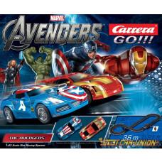 Carrera Go Avengers Track Set (No Extra Braids)