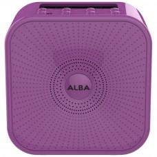 Alba Bluetooth DAB Radio - Purple