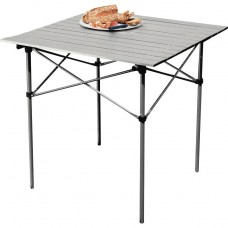 Folding Camping Table with Slatted Top