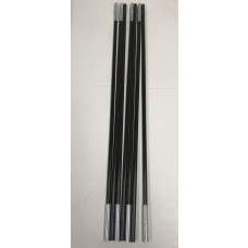 Replacement Black Poles For ProAction 4 Man Dome Tent - 9275719