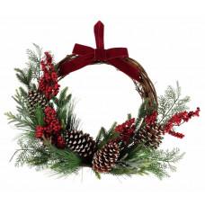 Home Classic Half Christmas Wreath