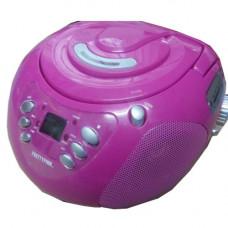 Pretty Pink CD Boombox - Pink CBB19CDP