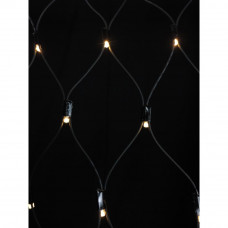 100 Net Connector Christmas Lights - Warm White