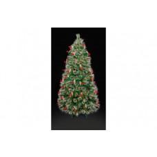 Premier Decorations 4ft LED Tipped Bottle Brush Tree - Green