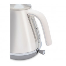 DeLonghi Icona Capitals KBOC3001W Cordless Jug Kettle - White