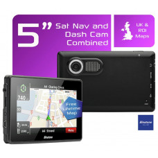 Binatone M515 5 Inch UK and ROI Sat Nav with Dash Cam