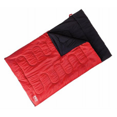 ProAction 300GSM Envelope Double Sleeping Bag - Red