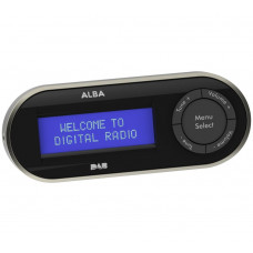 Alba Pocket Personal DAB Radio - Black