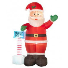 Home Inflatable Giant Santa (No Ropes & No Pegs)