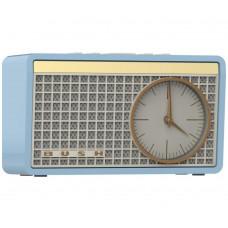 Bush Classic Retro Analogue Clock Radio - Blue