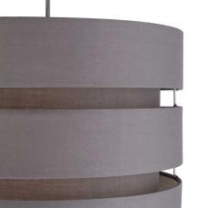 Habitat 3 Tier 30cm Lamp Shade - Flint Grey