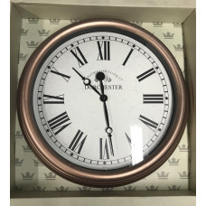 Sempre Outdoor Wall Clock - Copper