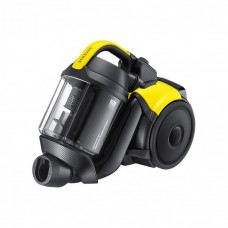 Samsung SC15F50V3 Bagless Cylinder Vacuum Cleaner-Black & Yellow (Machine Only)