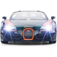 Rastar Radio Controlled Bugatti 1:14 - Black