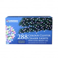 288 Multifunction Cluster LED Chase Lights - Multicoloured