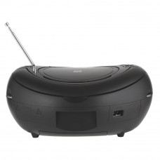 Bush MP3 CD Player Boombox - Black