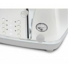 DeLonghi CTOC4003W Icona Capitals 4 Slice Toaster - White