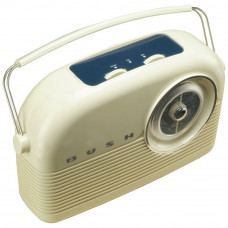 Bush Retro FM Radio - Cream (No Mains Adaptor)