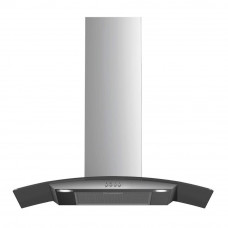 Beko HCG61320X 60cm 3 Speeds Curved Glass Chimney Hood - Stainless Steel