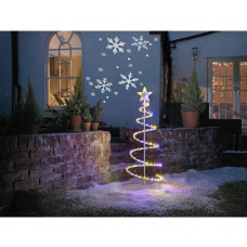 Home Indoor & Outdoor Snowflake Projector - White