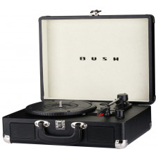Bush Classic Retro Turntable Vinyl Record Player - Black